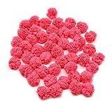 GOELX Tissue Fabric Net Pom Pom Bälle für Dekoration,