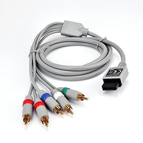 Cable de componentes AMATHINGS HDTV YUV Adecuado para Wii y Wii U...