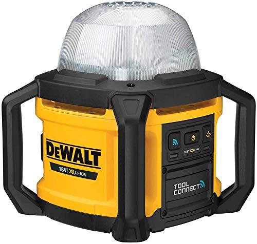 DEWALT DCL074-XJ - Luz LED de Área XR 18V 5.000 lúmenes TOOL CONNECT sin cargador/batería