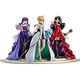 「Fate/stay night」 ~15th Celebration Project~ セイバー 遠坂凛 間桐桜 ~15th Celebration Dress Ver.~ Premium Box 1/7スケール ABS&PVC製 塗装済み完成品フィギュア