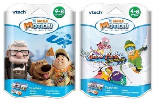 V Smile V Motion Game Bundle - Snow Park & Up!