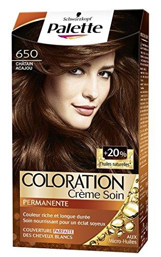 Schwarzkopf - Palette - Coloration Permanente Cheveux - Chatain Acajou 650