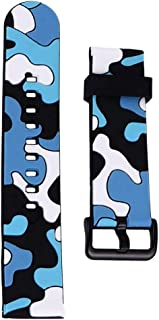 NICERIO Compatible for Polar Ignite Watch Bands Camouflage Silicone Quick Release Watch Strap Replacement Watch Accessorie...
