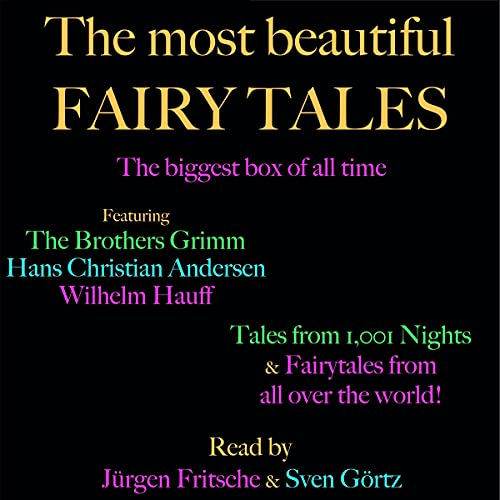 The most beautiful fairy tales! The biggest box of all time cover art