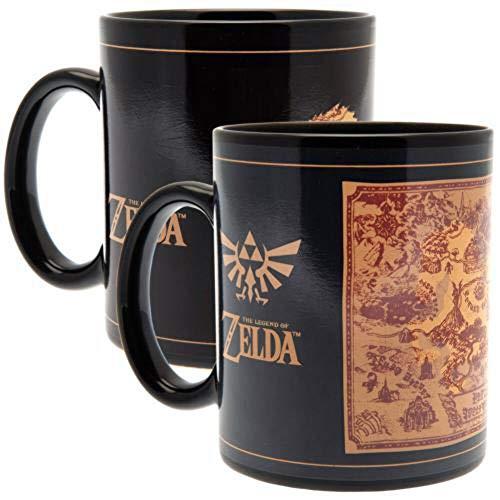 The Legend of Zelda SCMG24878 - Taza termoreactiva (315 ml), multicolor