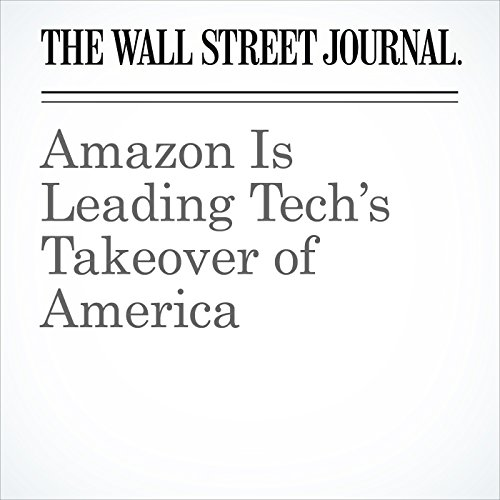 Amazon Is Leading Tech's Takeover of America copertina