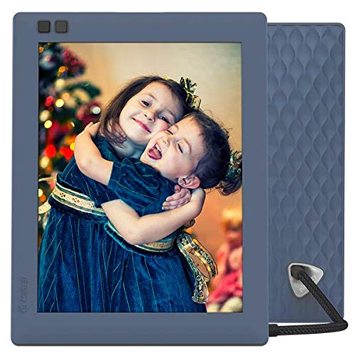 Nixplay Seed 10 Inch WiFi Digital Picture Frame Wood - Share Moments Instantly via App or E-Mail