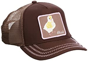 Goorin Bros. Men_s Animal Farm Baseball Dad Hat Trucker, Brown Chick, One Size