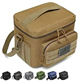 DBTAC Tactical Lunch Bag, Insulated Lunch Box for Men Women Adult | Durable School Lunch Pail for Kids | Leakproof Lunch Cooler Tote for Work Office Travel