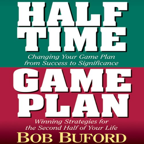 Halftime, Game Plan audiobook cover art