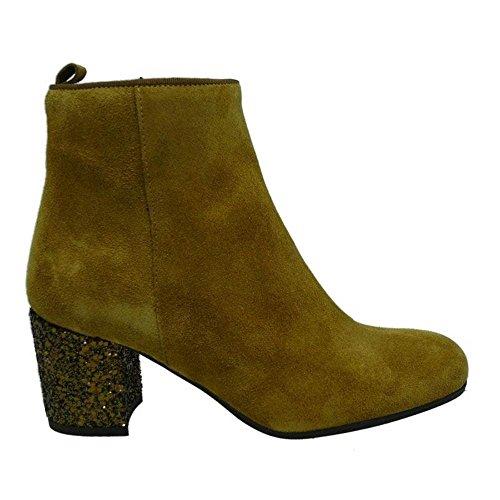 Zapatos Mujer Botas Botines Kanna Ki6761 Cuero 36