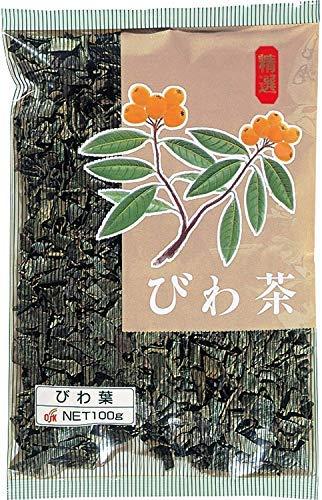 OSK びわ茶 温冷両用 リーフタイプ 100g入(2袋セット)