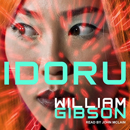 Idoru audiobook cover art