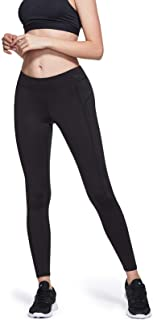 TSLA Women's Thermal Wintergear Compression Baselayer Pants Leggings Tights