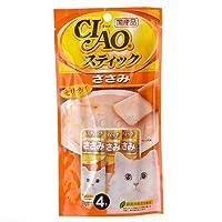 箱売り いなば CIAO(チャオ) スティック とりささみ 15g×4本 キャットフード CIAO チャオ 48袋入