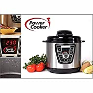 Power Cooker Pro - Digital Electric Pressure Cooker and Canner (6 Quart) As Seen on TV