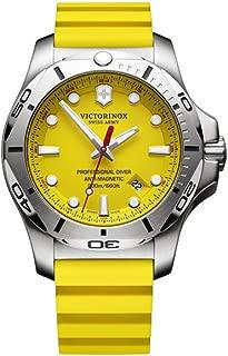 Victorinox Swiss Army Analogue Inox Yellow Dial Men's Watch