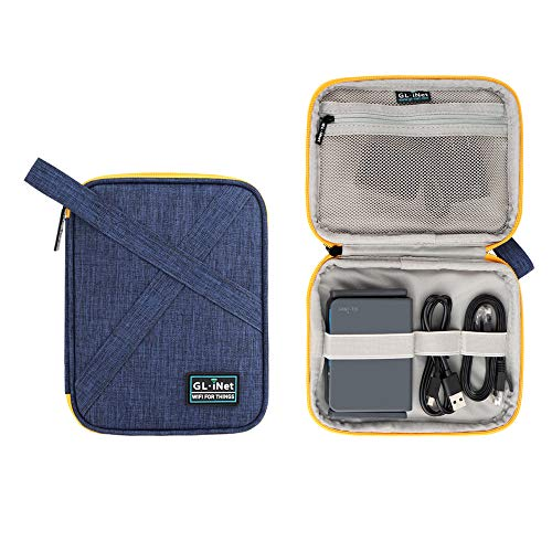 glinet electronic accessories pouch bag