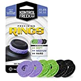 KontrolFreek Precision Rings | Aim Assist Motion Control per PlayStation 4 (PS4), Xbox One, Switch Pro & Scuf Controller | Densità mista