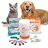 Pet Control HQ | Blood Glucose Test Strips - Use Veterinary Blood Glucose Monitor Meter, 50 Test Strips for...
