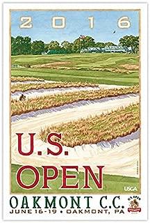 Oakmont | 2016 U.S. Open Poster Small