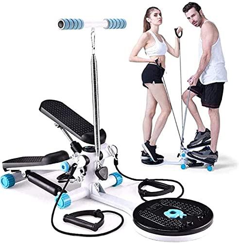ZBYY Spin Bikes para la máquina de mejora del hogar, extractor de disco de torsión, silencio en el hogar, aeróbicos, equipos de fitness, adelgazar con cordón multifunción