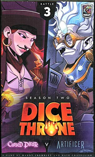 Dice Throne Season Two Box 3: Cursed Pirate vs. Artificer