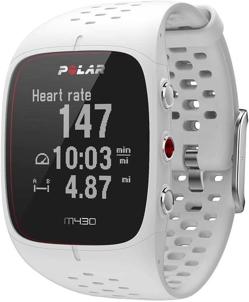 Orologio gps multisport polar m430 con cardiofrequenzimetro integrato 90080281