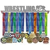 VICTORY HANGERS Soportes Para Medallas WRESTLING Gancho Exhibidor de Medallas V2  Medallero   Elegante Expositor Para Medallas * 100% Acero Inoxidable   Percha Para Medallas   Para Los Campeones !
