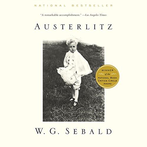 Austerlitz audiobook cover art