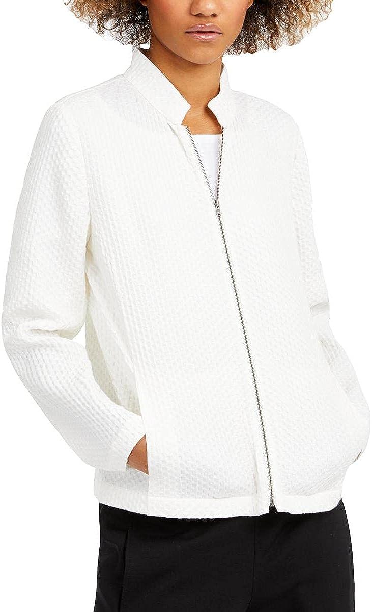 Eileen Fisher Womens Tencel Collared Jacket