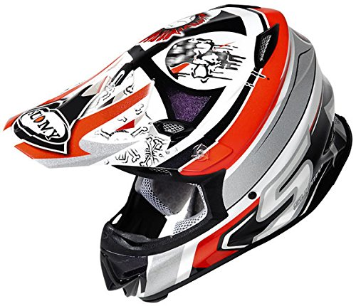 Suomy MR Jump Lazyboy Motocross Helm Rot XXL (63/64)