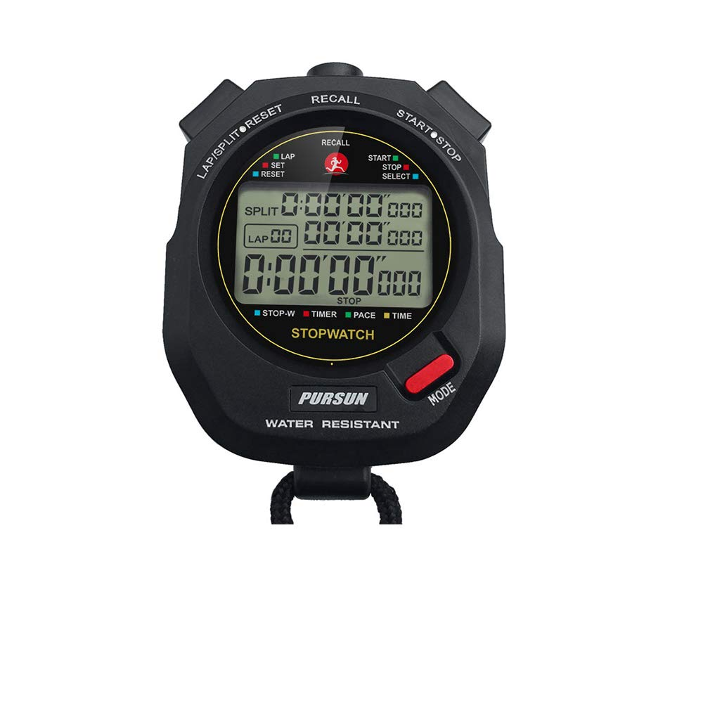 Professional Stopwatch Countdown Resistant Functional