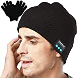Unisex Bluetooth Beanie Hat Headphones Tech Gifts for Men...