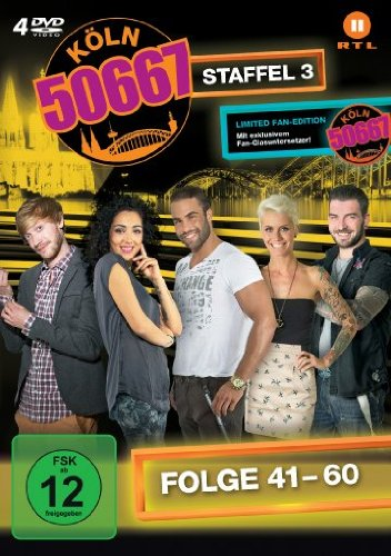 Köln 50667, Vol. 3: Folge 41-60 (Fan Edition) (4 DVDs)