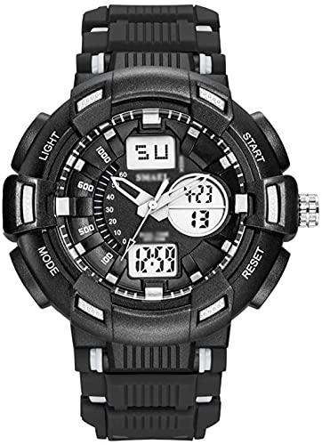Reloj Digital para Hombre Relojes Deportivos al Aire Libre para Hombres / Mujeres 50 m Natación Correa de plástico Impermeable 24 Horas Reloj electrónico Inteligente con indicación-re