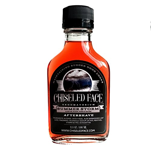 Summer Storm Aftershave Splash by Chiseled Face Groomatorium - Handmade, Small Batch, Luxury Grooming Products