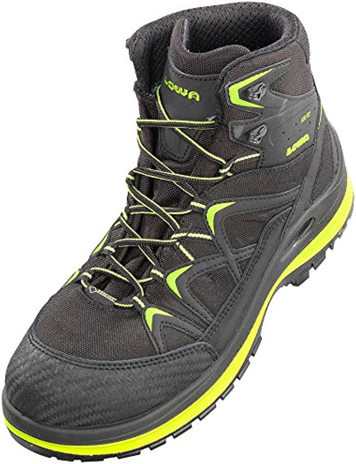Elten 5903-36 Size 36 S3 Lowa Innox Work GTX Lime Mid  Safety shoes - Multi-Colour