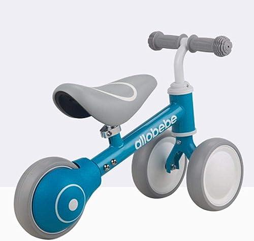 hasta un 65% de descuento Luckybaby Baby Toys Balance - Bicicleta Infantil sin Pedal, 3 3 3 Ruedas, Estable, Segura y Estable, azul, 1  con 60% de descuento