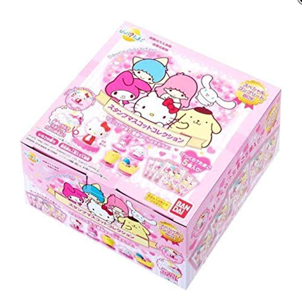 ラテン是正生きているびっくら?たまご サンリオキャラクターズ スタンプマスコットコレクション スペシャルコンプリートBOX