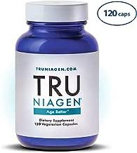 TRU NIAGEN Nicotinamide Riboside - Patented NAD Booster for Cellular Repair & Energy, Vitamin B3 Niacin NMN, 150mg Vegetarian Capsules, 300mg Per Serving, 60 Day Bottle
