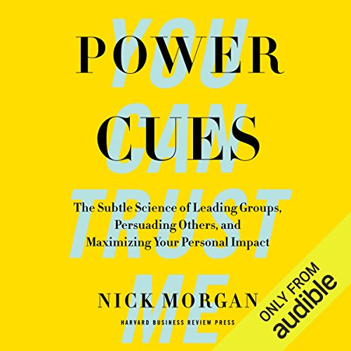 Power Cues audiobook cover art