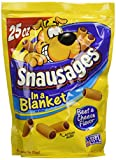 Snausages In A Blanket Beef & Cheese Flavor Dog Snacks, 25 Oz (Pack Of 4)