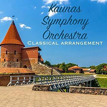Kaunas Symphony Orchestra Classical Arrangement