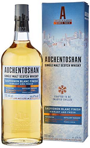 Auchentoshan Sauvignon Blanc, Single Malt Scotch Whisky, Finished in White Wine Casks, 70 cl - Amazon Exclusive
