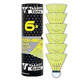 Talbot-Torro Tech 450 Badmintonbälle - 6er Dose, verschiedene Farben/Geschwindigkeiten wählbar...