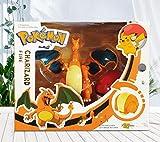 XINHANG Caja ciega Anime Pokémon Pikachu Dragón Que escupe Fuego Juguete Pokémon Pokémon Golfista Office Boy