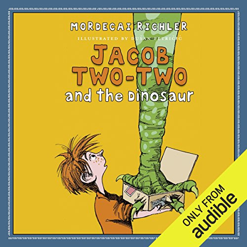 Jacob Two-Two and the Dinosaur audiobook cover art