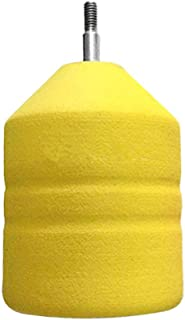 e5e10 Soft Foam Arrowheads Yellow Diameter 2
