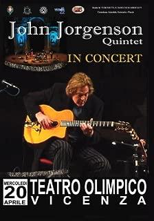 John Jorgenson Quintet In Concert - Teatro Olympico, Vincenza